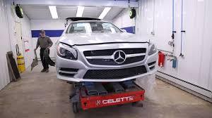 lexus certified body shop baltimore u0027s first mercedes benz aluminum certified collision