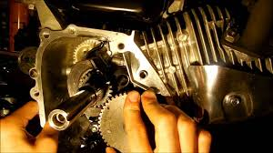 honda 6 5 hp clone how to install camshaft timing youtube