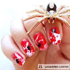 halloween impress nails 20 craziest halloween nail art ideas beesdiy com