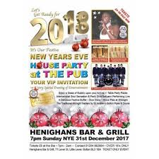 new years party packs buy new years house party at the pub tickets new years