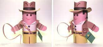 dave lowe design the blog indiana jones craft project for kids