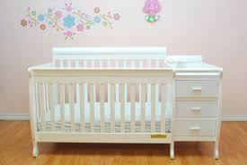 Convertible Cribs With Attached Changing Table Furniture Crib And Changing Table Convertible Crib With