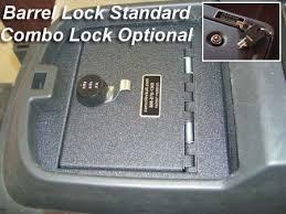 Dodge Gun Vaults 1018 Console Vault Cadillac Escalade Hand Gun Safe Auto Safe
