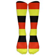 German Flag Emoji Amazon Com German Flag Germany Cotton Knee High Soccer