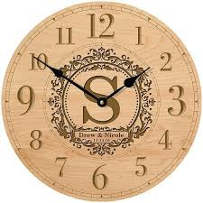 personalized anniversary clock best 25 anniversary clock ideas on