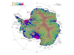 Satellite Map Of Washington State by New Nasa Satellite Map Shows Complete Antarctic Ice Flow Al Com