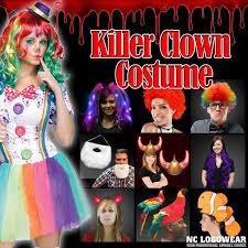 dress up like a killer clown this halloween canvas development