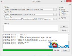 membuat file update zip android how to create sony xperia pre rooted firmware with prf creator