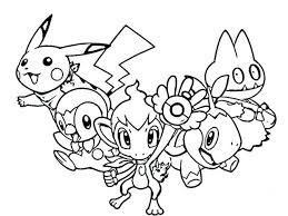pokemon coloring pages prints and colors 3371 bestofcoloring com