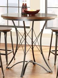 adele round counter height dining table from steve silver ae360pt