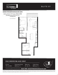 floor plans tv tower 1 tv towers vancouver