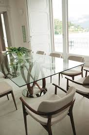 rectangular glass top dining room tables inspiring rectangular glass dining room tables gallery best ideas