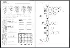 number names worksheets numbers 1 20 worksheets free printable