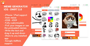 Meme Generator Script - download for free meme generator ios swift app plugins download free