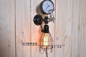 industrial pipe light fixture steunk light fixture vintage light fixtures industrial pipe metal