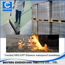 china flexible basement waterproofing materials polymer bitumen