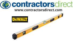 dewalt box beam levels from contractors direct youtube