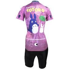 womens cycling jacket aliexpress com buy women cycling jersey my neighbor totoro women