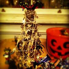 decorated halloween trees happy halloween u2026 tree u0027ticket u0027s there u0027 irish and