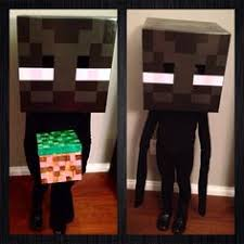 Minecraft Costume Halloween Head Minecraft Creeper Costume Stapled Baseball