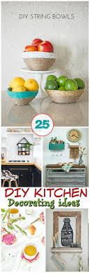 diy kitchen wall ideas 25 of the diy kitchen decorating ideas diy home decor