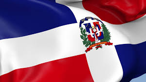 Dominican Republic Flag Dominican Republic Waving Flag Background Loop Motion Background