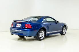 2000 blue mustang 2000 ford mustang lx auto barn cars