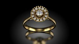 verighete sabion inel de logodna din aur galben angelo cu diamante verighete