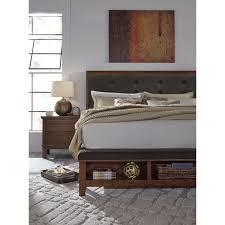 Jansey Upholstered Bedroom Set Upholstered Bed With Storage Ashley Millennium Jansey