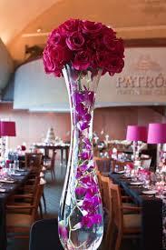 Platinum Wedding Decor Pink Black Damask Reception Wedding Flowers Wedding Decor