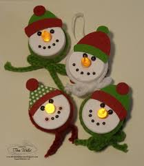 the serene ster snowman tealight ornaments