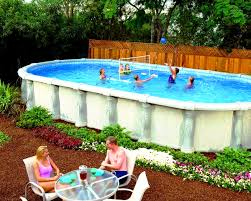 Ideas For Backyard Party by Bedroom Archaicfair Above Ground Backyard Pool Ideas All One