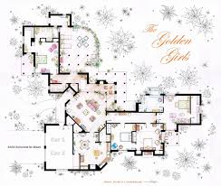 houses and their floor plans the golden girls apartment i always thought all of their bedrooms