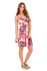 summer dresses uk womens halter neck summer mid length dress animal print