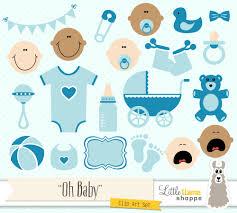 baby shower clipart blue baby clip art boy baby clip art