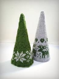 knitted christmas knitted christmas decorations