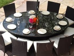 glass round dining table for 8 what are the benefits of large