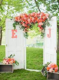 wedding backdrop themes cool coral wedding theme ideas weddceremony