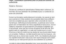 lettre motivation cuisine collectivité seven secrets about lettre de motivation chef de cuisine
