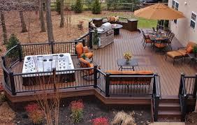 enchanting outdoor deck grill modern backyard new at outdoor deck