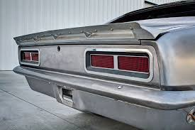 1969 camaro rear spoiler custom 1967 chevy camaro top level pro touring build
