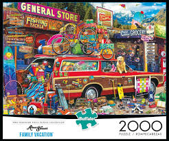 jigsaw puzzle games aimee stewart family vacation boardgames 2000