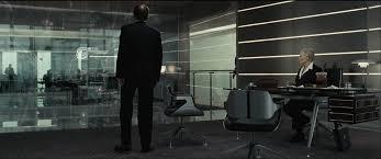 Esszimmer In Der M Chner Bmw Welt Interstuhl Silver In James Bond Quantum Of Solace Office