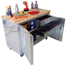 garage workbench and cabinets rolling garage workbench storage cabinet 4 ft plate