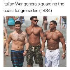 Growing Up Italian Australian Memes - dopl3r com memes italian war generals guarding the coast for