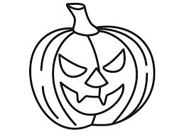drawn pumpkin color for kid pencil and in color drawn pumpkin