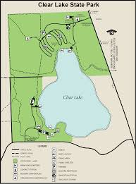 Michigan Orv Trail Maps by Clear Lake State Parkmaps U0026 Area Guide Shoreline Visitors Guide