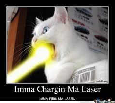 Laser Meme - cat laser by recyclebin meme center