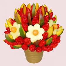 bouquet of fruits edible bouquets fresh fruit bouquet fruity co uk
