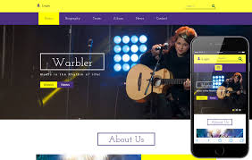 responsive web design layout template music web templates w3layouts com